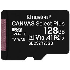 Kingston 128GB Canvas Select Plus U1 A1 Micro SD