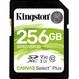 Kingston 512GB SD Kaart Canvas Select Plus UHS-I U1 V10