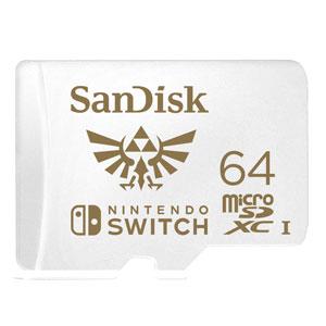 SanDisk 64 GB Extreme Micro SDXC voor Nintendo Switch (light)