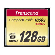 Transcend 128 GB CompactFlash 1000x 160MB/s