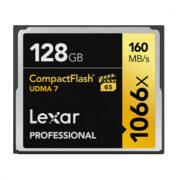 Lexar Professional 128 GB 1066x Compact Flash VPG65 160MB/s