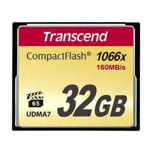Transcend 32 GB CompactFlash 1000x 160MB/s