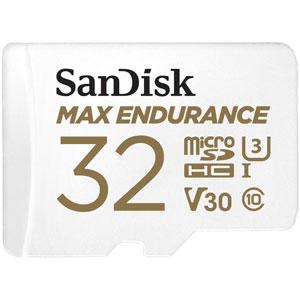 SanDisk 32GB Micro SD Max Endurance U3 100 MB/s