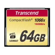 Transcend 64 GB CompactFlash 1000x 160MB/s