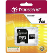 Transcend 1GB Micro SD met Adapter
