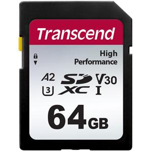 Transcend 64 GB SD kaart High Performance 330S