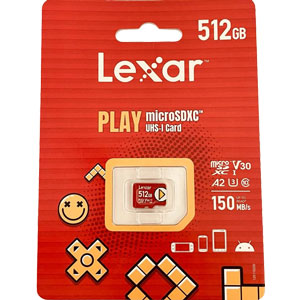 Lexar PLAY microSDXC 512gb