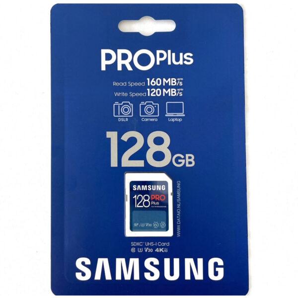 Samsung PRO Plus SDXC 128GB V30 U3 UHS-I